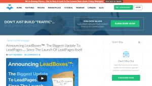 LeadBoxes facilite l'insertion de formulaires à double acceptation dans n'importe quel article de blog.