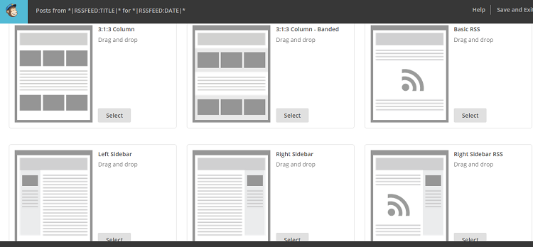 Mailchimp Design Theme Screenshot