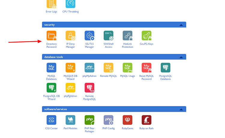 Bluehost cPanel blewhost.com Main