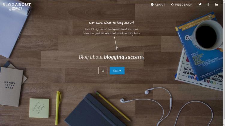 Blog About ... di impactbnd.com