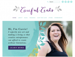 Carrie of Careful Cents gets most of her coaching clients from her Facebook group