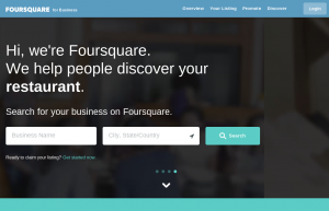 Submitting your business to directories like Foursquare will help boost your search engine rankings.