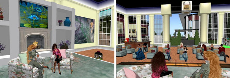 karen kay lecturing on second life