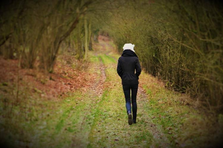 Write, then take a walk