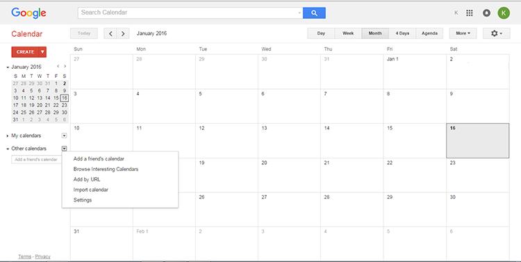 2 Sfoglia calendari interessanti