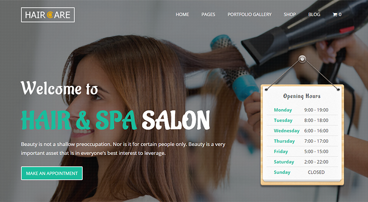 Hair And Spa Salon