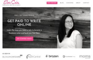 Freelance writer & blogger Elna Cain advises setting a range of short-term to stretch goals.