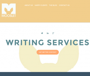 Melissa Zehner of Mooslet recommends defining your requirements before looking for writers.