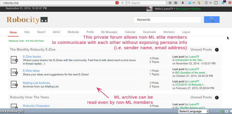 The forum that complements my elite ML/newsletter
