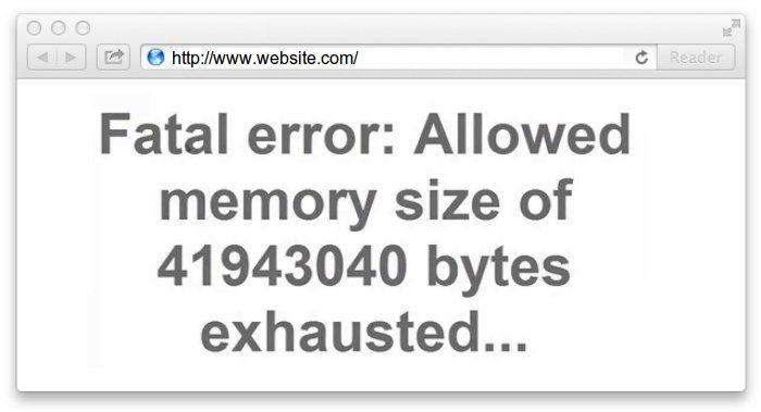 Memory Exhausted Error