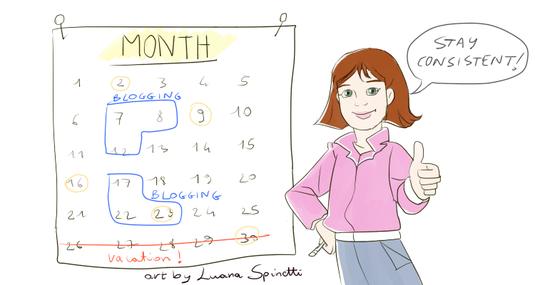 Blog Calendar Helps To Stay Consistent