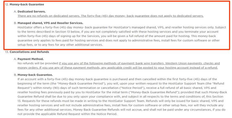 hg tos - Hostgator Cloud Hosting Review: Pros & Cons, Speed TestBlue host VS Host Gator