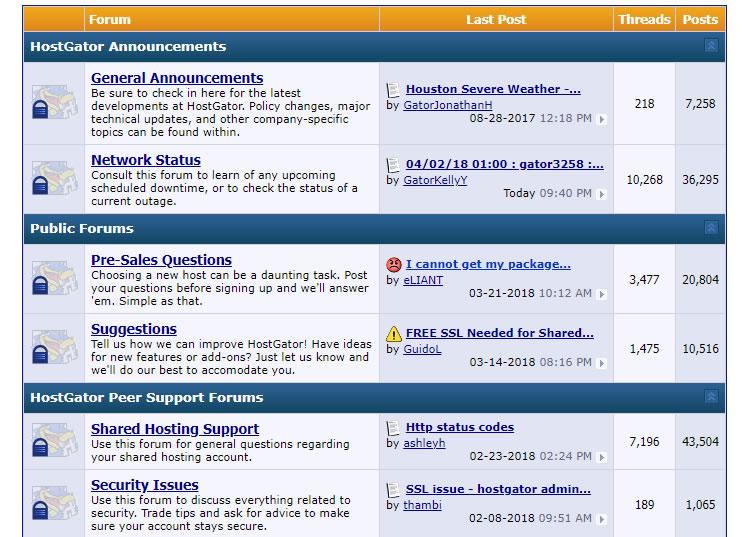 hostgator forum - Hostgator Cloud Hosting Review: Pros & Cons, Speed TestBlue host VS Host Gator