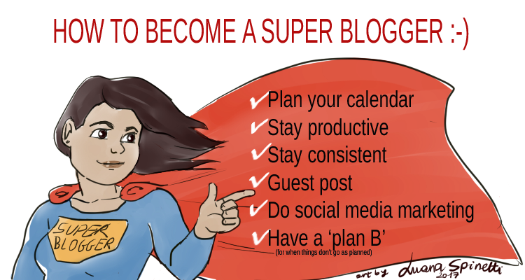 Become a super blogger with this blog scheduling guide