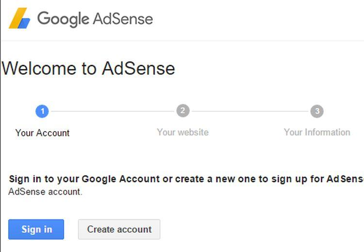 adsense start works