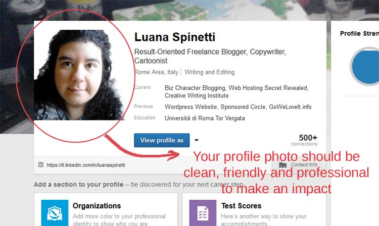 Foto del profilo LinkedIn