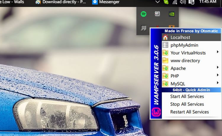 how to run wordpress locally mac
