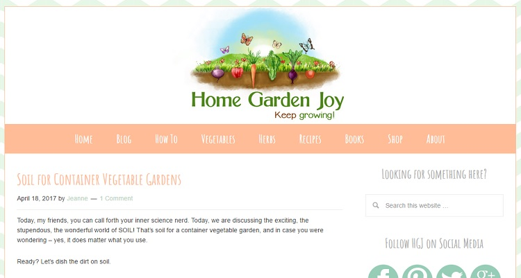 home and garden joy