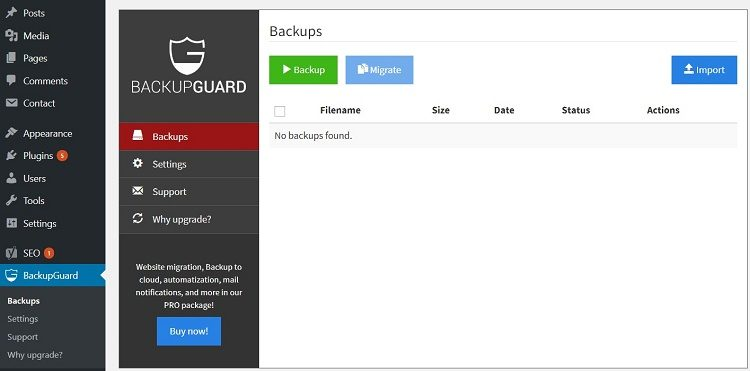 5 Easy Ways to Back Up / Migrate Your WordPress Blog with