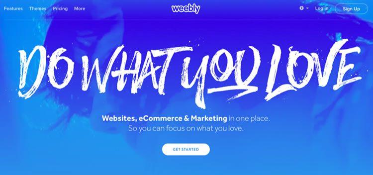 Sử dụng Weebly để tạo một trang web