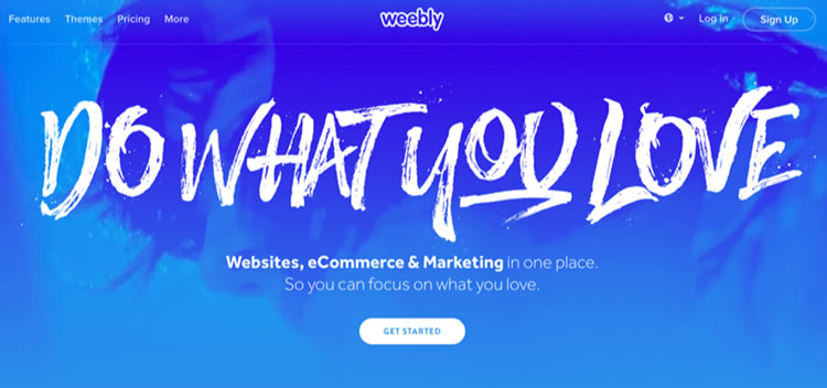 features new Website builder Weebly