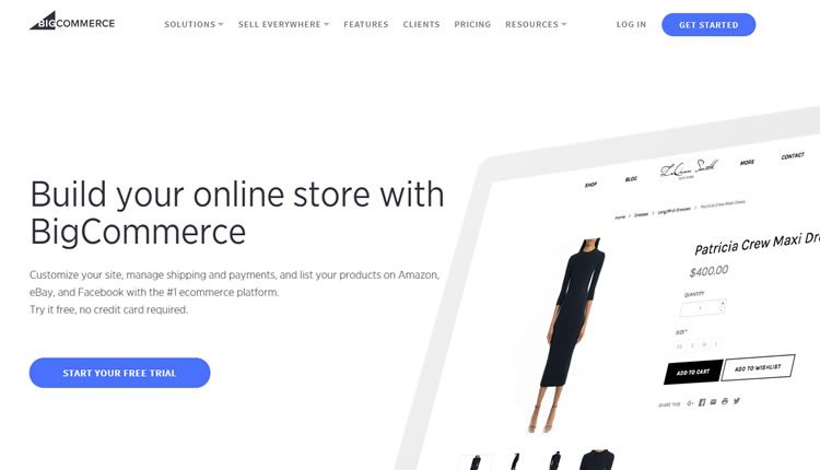 BigCommerce Store e Website Builder