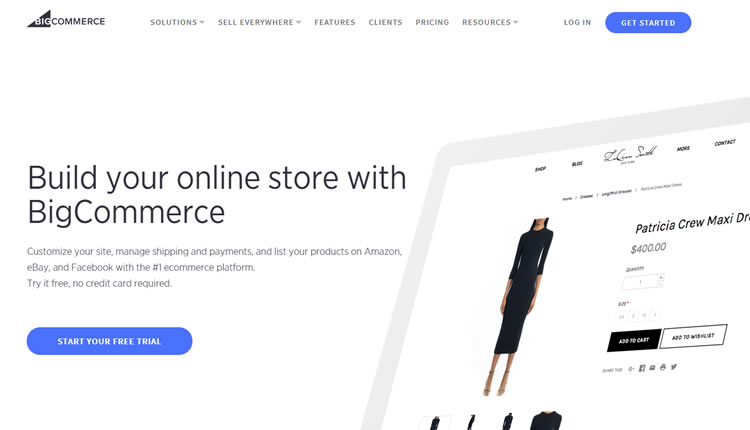 BigCommerce Store en Website Builder