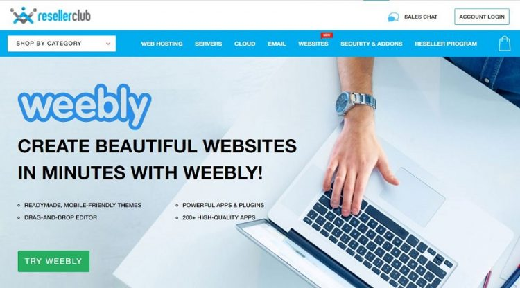 resellerclub weebly