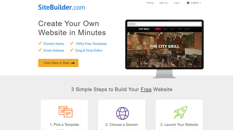 EIG Website Builder