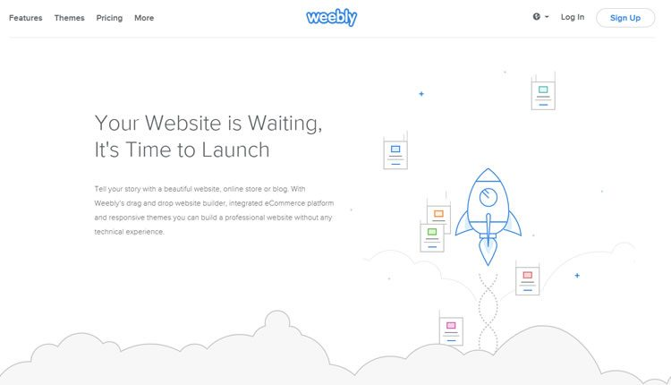 Weebly veb-sayt builder