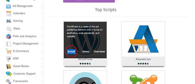 Instalando WordPress para crear su sitio web