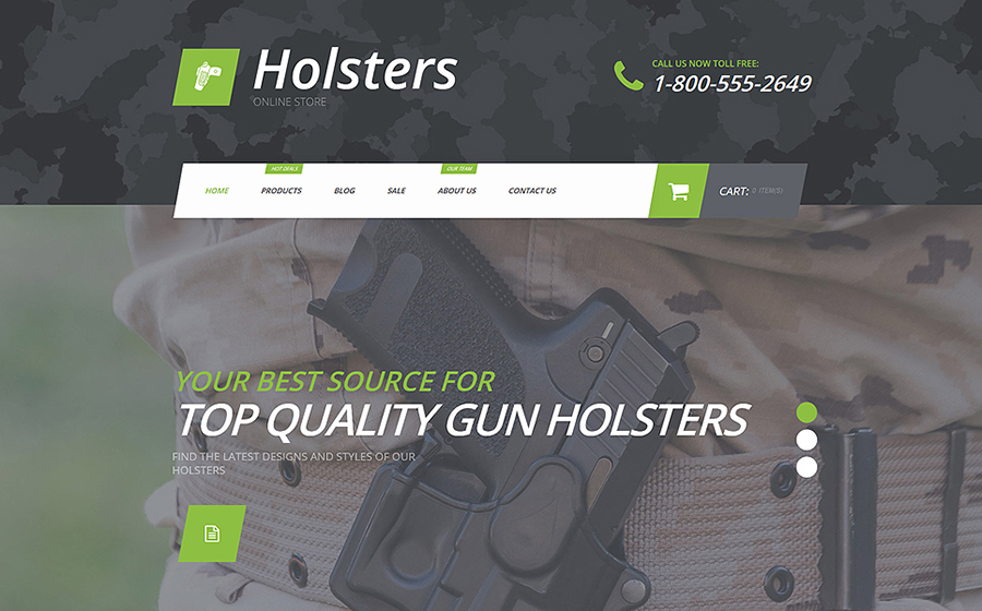 Gun Shop Shopify Tema