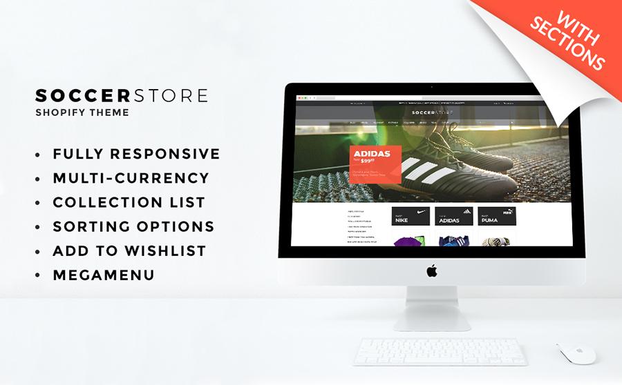 Futbol Mağazası Shopify Teması