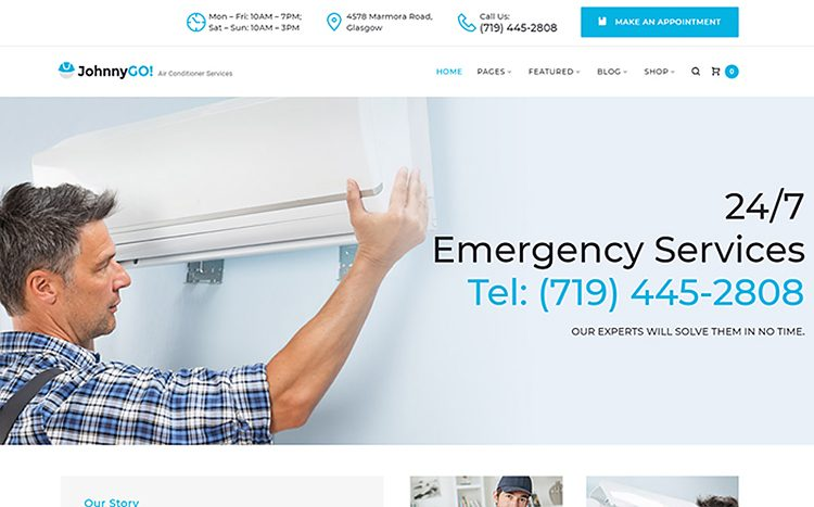 Multipurpose Home Services WordPress Theme Handyman