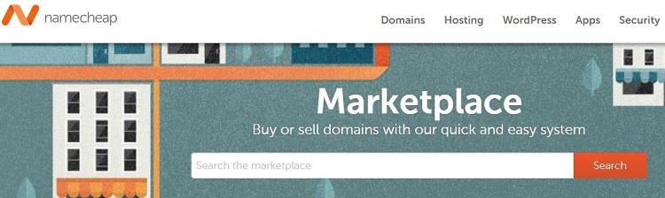 Pasar NameCheap