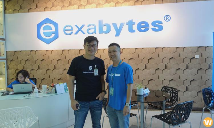 Visita HQ exabyte, 2018.