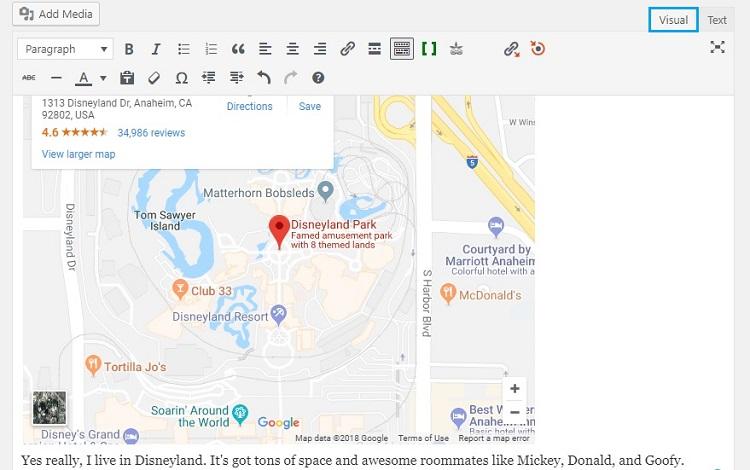 Disneyland Directions Google Maps on