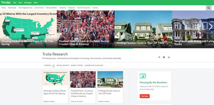 Trulia - Property Market Research