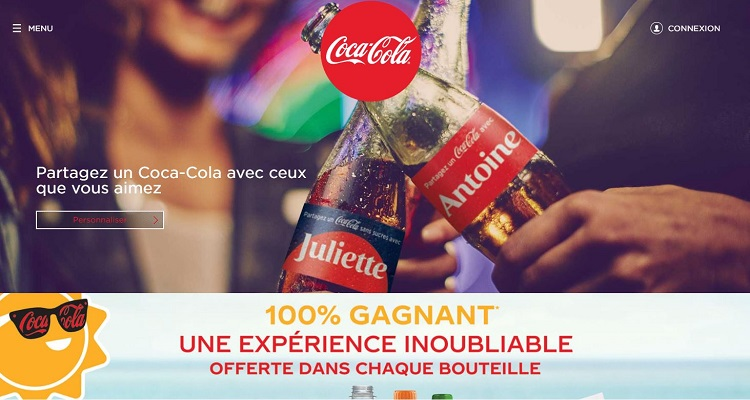 Coca Cola France crede in WordPress
