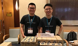 Jerry y Jason en WordCamp KL 2017