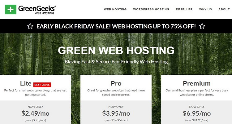 Greengeeks Black Friday Deals 2019 Whsr