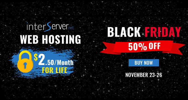 Interserver Black Friday Giao dịch