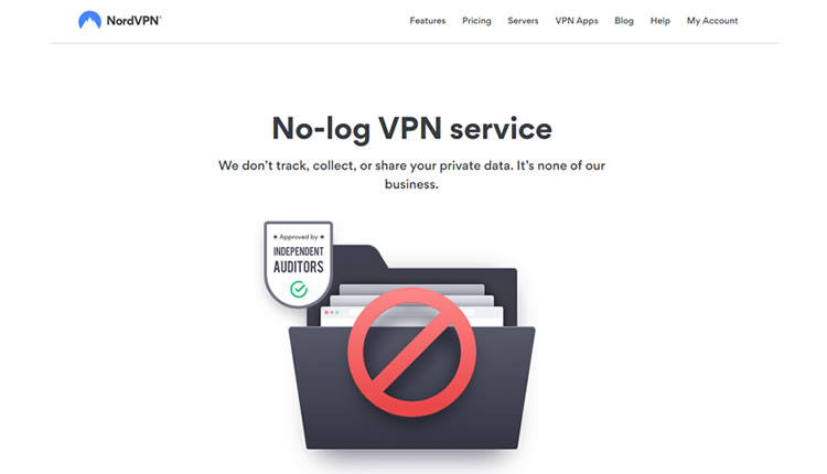 NordVPN don't track nor collect users data.