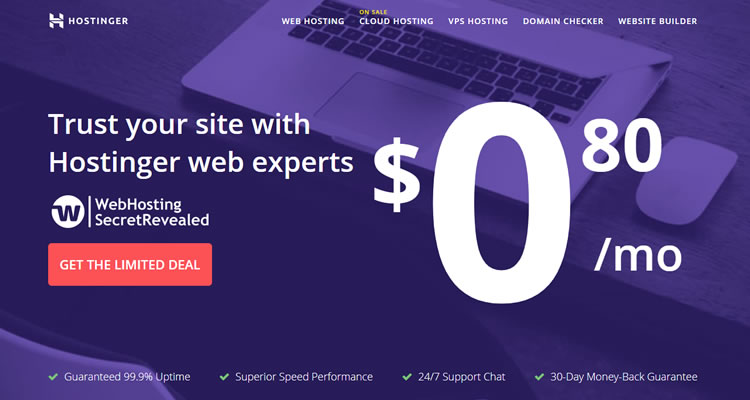 Hostinger - best cheap hosting