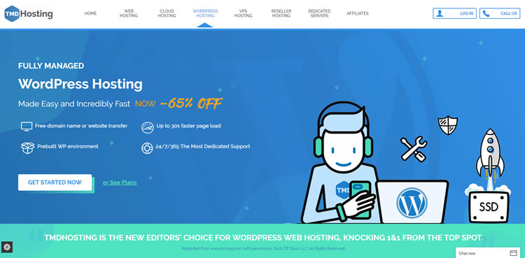 TMD Hosting WP Hosting Deal