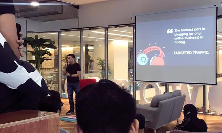 Parlando al WordPress Meetup di Kuala Lumpur, 2019