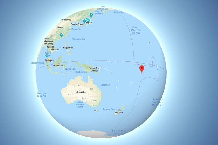 Location na Tokelau