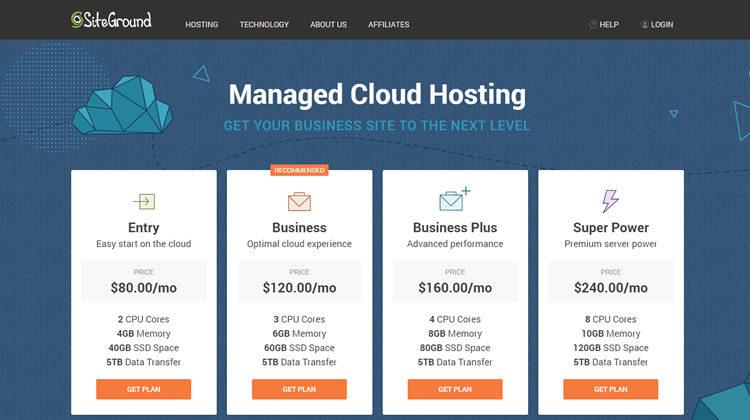 siteground hosting vps