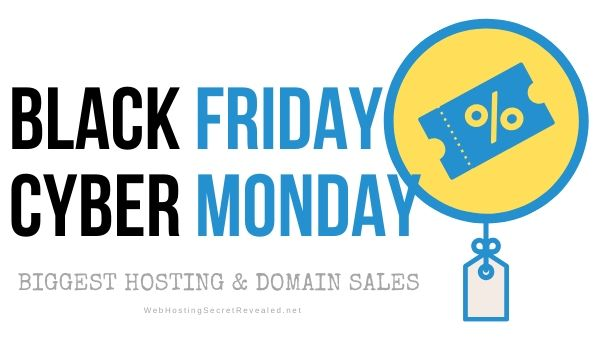 WHSR Black Friday / Cyber ​​Monday web hosting aanbiedings 2019