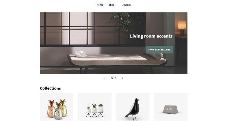Modèle de commerce électronique Shopify gratuit